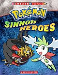 Create and Trace Sinnoh Heroes (Pokemon)