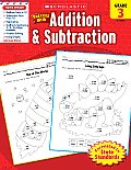 Scholastic Success with Addition & Subtraction Grade 3