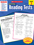 Scholastic Success with Reading Tests Grade 3