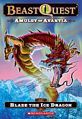 Beast Quest 23 Amulet of Avantia Blaze the Ice Dragon