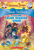 Thea Stilton 11 & the Blue Scarab Hunt A Geronimo Stilton Adventure