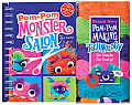 Pom-Pom Monster Salon [With Klutz Wrap & Snap POM-POM Maker/Yarn/Comb/Bows/Etc and Accessories]