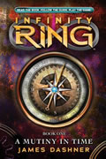 A Mutiny in Time (Infinity Ring #1) Cover