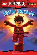 Lego Ninjago Reader #1: Way of the Ninja (Lego Ninjago) Cover
