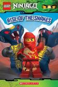 Rise of the Snakes (Lego Ninjago: Masters of Spinjitzu) Cover