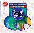 Spiral Draw [With 4 See-Through Drawing Wheels, 1 Spiral Draw Frame and Six-Color Pen]
