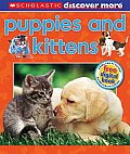 Scholastic Discover More: Puppies & Kittens (Scholastic Discover More)