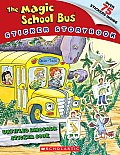 The Magic School Bus Sticker Storybook: Dinosaur Rescue