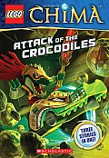 Lego(r) Legends of Chima: Attack of the Crocodiles (Chapter Book #1) (Lego Legends of Chima)
