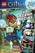 LEGO Legends of Chima The Legend Begins Comic Reader 1