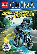 Lego Legends of Chima: Gorillas Gone Bananas Chapter Book #3 (Lego Legends of Chima)