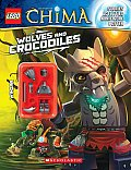 LEGO Legends of Chima Wolves & Crocodiles Activity Book 2 with Minifigure