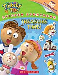 Tickety Toc: Treasure Time - Sticker Storybook (Tickety Toc)