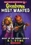 Goosebumps Most Wanted #8: Night of the Puppet People (Goosebumps Most Wanted #8)