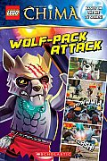 Lego Legends of Chima: Wolf-Pack Attack! (Comic Reader #4) (Lego Legends of Chima)