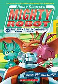Ricky Ricotta #5: Ricky Ricotta's Mighty Robot vs. the Jurassic Jackrabbits from Jupiter (Book 5) - Library Edition