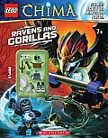 LEGO Legends of Chima Ravens & Gorillas Activity Book 3 with Minifigure