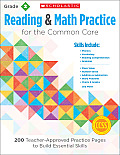 Reading & Math Practice, Grade 2: 200 Teacher-Approved Practice Pages to Build Essential Skills
