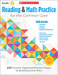 Reading & Math Practice, Grade 4: 200 Teacher-Approved Practice Pages to Build Essential Skills