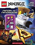 Lego Ninjago: Ninja vs. Nindroid Activity Book (with Minifigure) (Lego Ninjago)