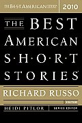 The Best American Short Stories 2010 Cover