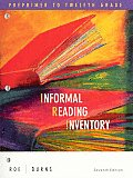Roe Informal Reading Inventory Seventh Edition Plus Guide to Teacherreflection Plus Guide to Assessment Plus Guide to Differentiatinginstruction