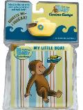 Curious Baby My Little Boat Curious George Bath Book & Toy