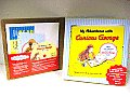 My Adventures with Curious George: A Build-Your-Own-Book Kit [With CDROM and Writer's Notebook and Sticker(s) and Bookplates, Customizable Flaps and B