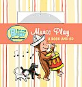 Music Play [With CD (Audio)] (Curious Baby Curious George) Cover