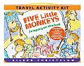 Five Little Monkeys Travel Activity Kit [With No Accessory and Sticker(s) and Crayons and Bingo Game and CD (Audio) and 2 Paperbacks and Ac