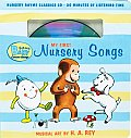 Curious Baby My First Nursery Songs Curious George Book & CD