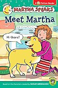 Martha Speaks: Meet Martha (Green Light Reader - Level 1)