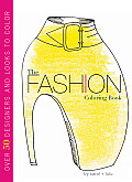 The Fashion Coloring Book Cover