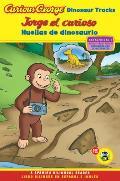 Curious George Dinosaur Tracks Spanish English Bilingual Edition Cgtv Reader