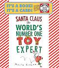 Santa Claus the World's Number One Toy Expert Send-A-Story Cover
