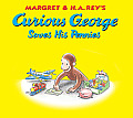 Curious George Saves His Pennies [With Pop-Out Coin Bank] (Curious George 8x8)
