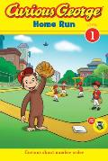 Curious George Home Run (Curious George Green Light Reader - Level 1)