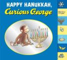 Happy Hanukkah Curious George tabbed board book