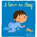 I Love to Sleep Deluxe Trilingual Touch & Feel