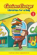 Curious George Librarian for a Day (Cgtv) (Curious George Green Light Reader - Level 1)