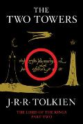 Two Towers Lord of the Rings 02 black cover