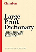 Chambers Large Print Dictionary (Large Print)