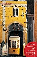 Portuguese Phrasebook With Lisbon Map