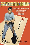 Encyclopedia Brown #17: Encyclopedia Brown and the Case of the Treasure Hunt Cover
