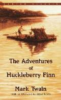 The Adventures of Huckleberry Finn (Bantam Classics) Cover