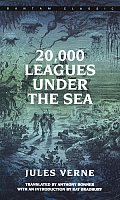 20,000 Leagues Under the Sea (Bantam Classics) Cover