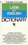 New College Latin and English Dictionary (66 - Old Edition)
