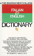 Bantam New College Italian & English Dictionary (76 Edition)
