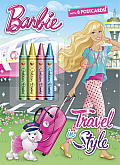 Travel in Style (Barbie) (Color Plus Chunky Crayons)