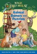 Magic Tree House: Animal Games and Puzzles (Stepping Stone Book)